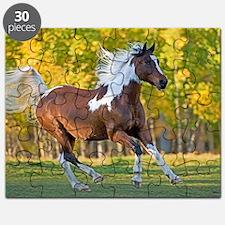 Cute Wild horses running Puzzle
