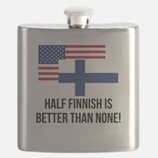 Half Finnish Is Better Than None Flask