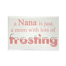 nana mom frosting Rectangle Magnet