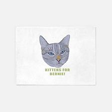 Kittens for Bernie! 5'x7'Area Rug