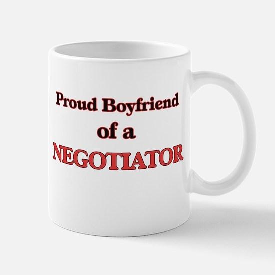 Proud Boyfriend of a Negotiator Mugs