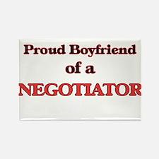 Proud Boyfriend of a Negotiator Magnets