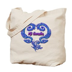 Mi Corazon Tote Bag