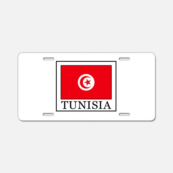 Tunisia Aluminum License Plate