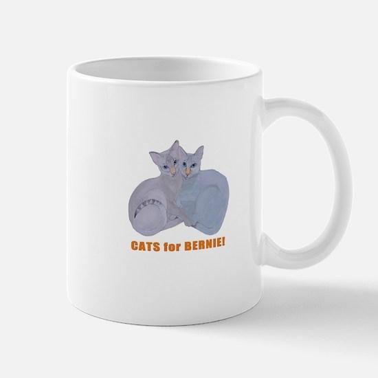 Cats for Bernie! Mugs