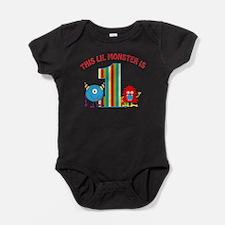 1st Birthday Monster Baby Bodysuit