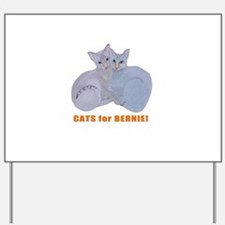 Cats for Bernie! Yard Sign