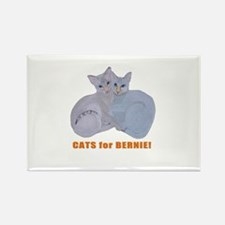 Cats for Bernie! Magnets