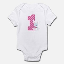 1st birthday bunny Body Suit