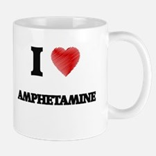 I Love AMPHETAMINE Mugs