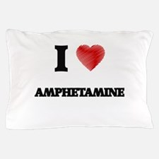 I Love AMPHETAMINE Pillow Case