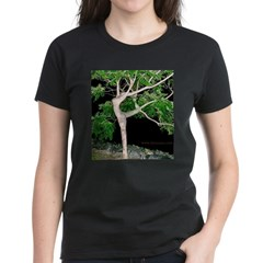 Tree Goddess Simulacra Women's Dark T-Shirt