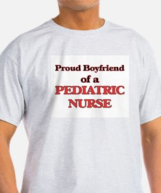Proud Boyfriend of a Pediatric Nurse T-Shirt