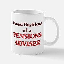 Proud Boyfriend of a Pensions Adviser Mugs