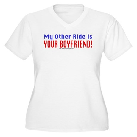 My Other Ride is Your Boyfriend Women's Plus Size