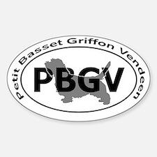 PETIT BASSET GRIFFON VENDEEN Decal