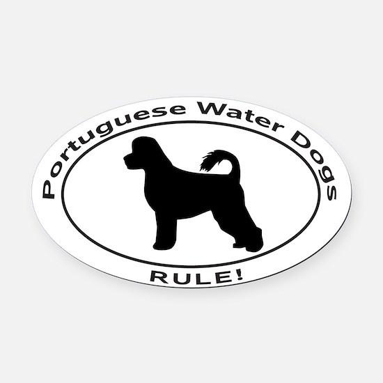 Portuguese Water Dog Car Magnets Cafepress