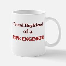 Proud Boyfriend of a Pipe Engineer Mugs