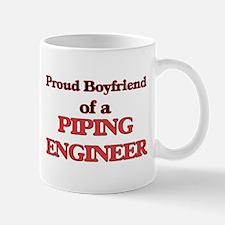 Proud Boyfriend of a Piping Engineer Mugs