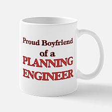 Proud Boyfriend of a Planning Engineer Mugs