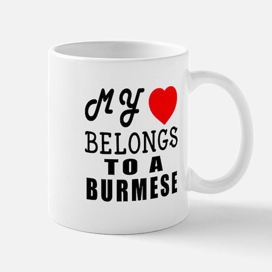 I Love Burmese Mug