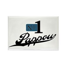 Number One Pappou Rectangle Magnet