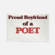 Proud Boyfriend of a Poet Magnets
