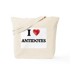 I Love ANTIDOTES Tote Bag