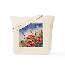 Cute Blue flowers Tote Bag