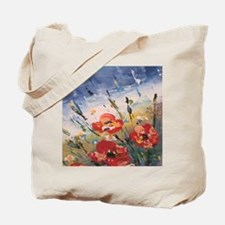 Cute Poppies Tote Bag