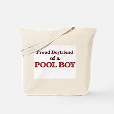 Proud Boyfriend of a Pool Boy Tote Bag