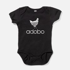 Funny Chicken adobo Baby Bodysuit