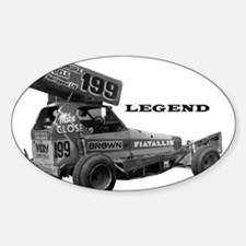 "Mike Close ""LEGEND"" Oval Decal"