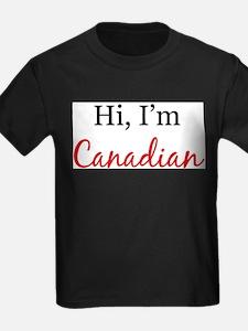 Unique I am canadian T