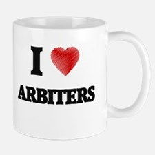 I Love ARBITERS Mugs