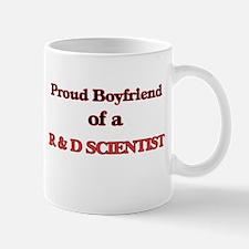 Proud Boyfriend of a R & D Scientist Mugs