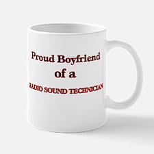 Proud Boyfriend of a Radio Sound Technician Mugs