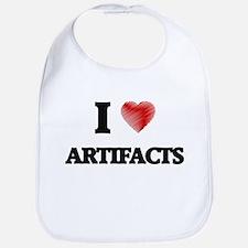 I Love ARTIFACTS Bib