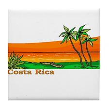 Costa Rica Tile Coaster