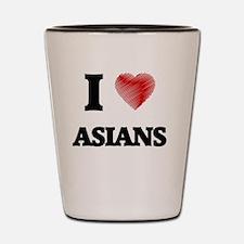 Cute Asian culture Shot Glass