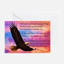 Wings Of Prayer Greeting Cards (pk Of 20)