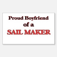 Proud Boyfriend of a Sail Maker Decal