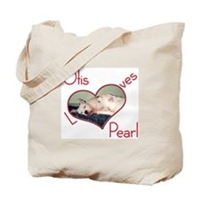 Otis Loves Pearl Tote Bag