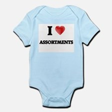 I Love ASSORTMENTS Body Suit