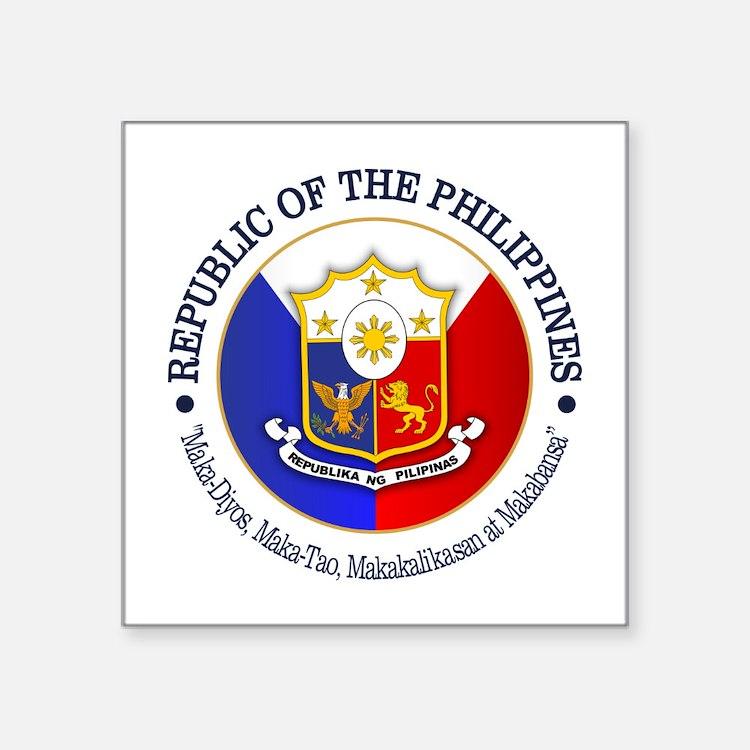 Republic Of The Philippines Bumper Stickers Car Stickers Decals - Car sticker decals philippines