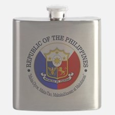 The Philippines (rd) Flask