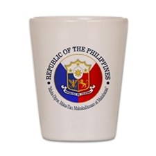 The Philippines (rd) Shot Glass