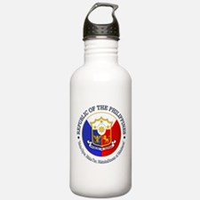 The Philippines (rd) Water Bottle