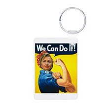 Hillary Can Do It Keychains