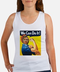 Hillary Can Do It Tank Top